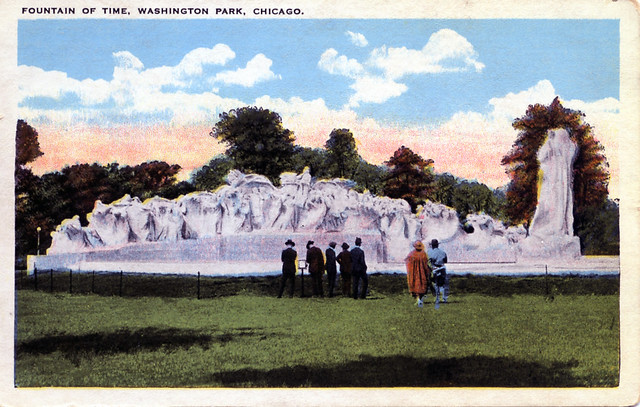 Fountain of Time Washington Park Chicago IL