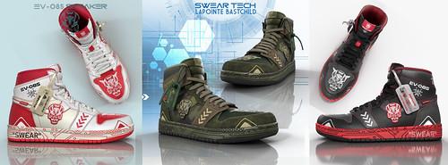 SwearTech LE Demon Sneakers