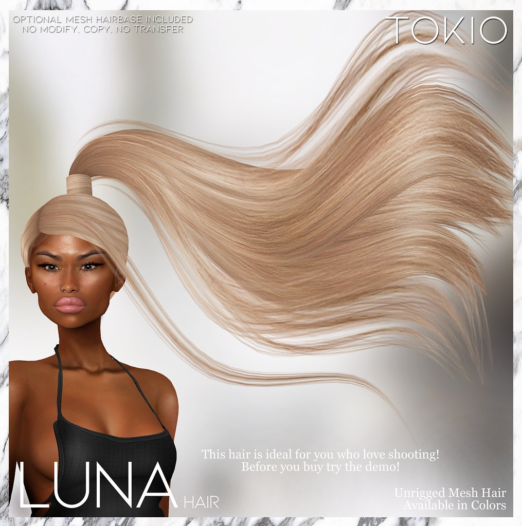TOKIO Hair – LUNA – TRES CHIC Event!!