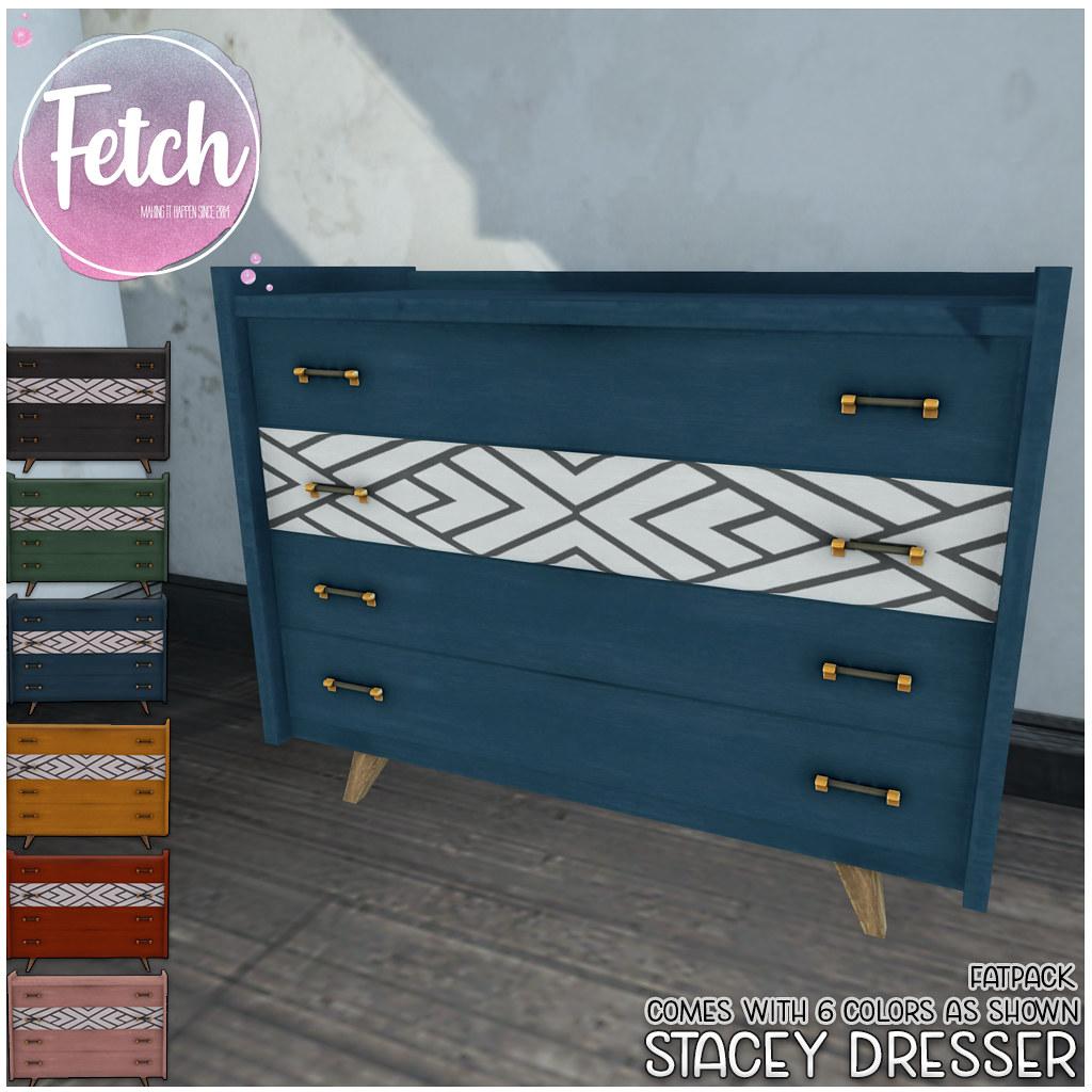 [Fetch] Stacey Dresser @ Fifty Linden Friday!