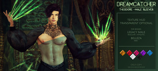 DREAMCATCHER // Theodore - male sleeves @ MOM | by NotTheReal Novaland