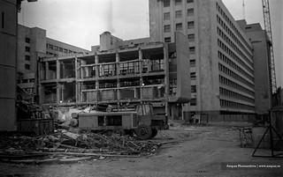 Centrul de Calcul dupa cutremur 1977