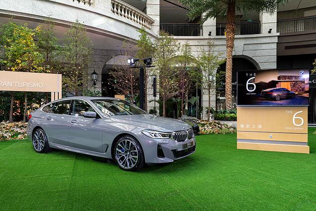 [新聞照片二] 全新BMW 6系列Gran Turismo經典BMW雙腎型水箱護罩以一體式造型,融入線條刻劃更具氣勢的M Sport前保桿線條。
