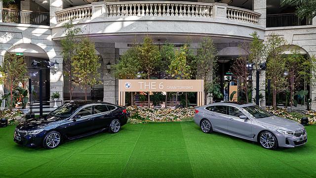 [新聞照片一] 全新BMW 6系列Gran Turismo結合豪華房車的舒適氛圍與性能車的動感靈魂,將科技與藝術氣息揉合,盡奪車壇眾人目光。