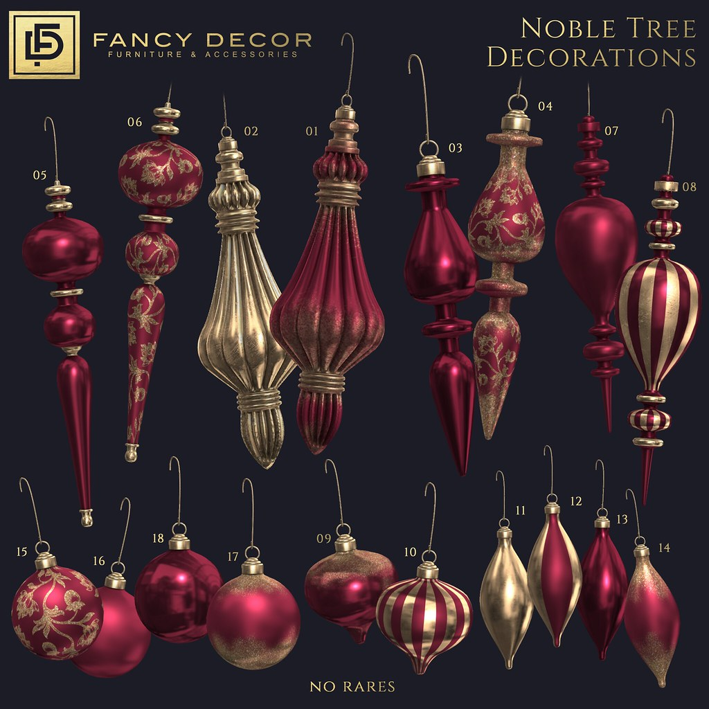 Noble Ornament Collection at Tannenbaum