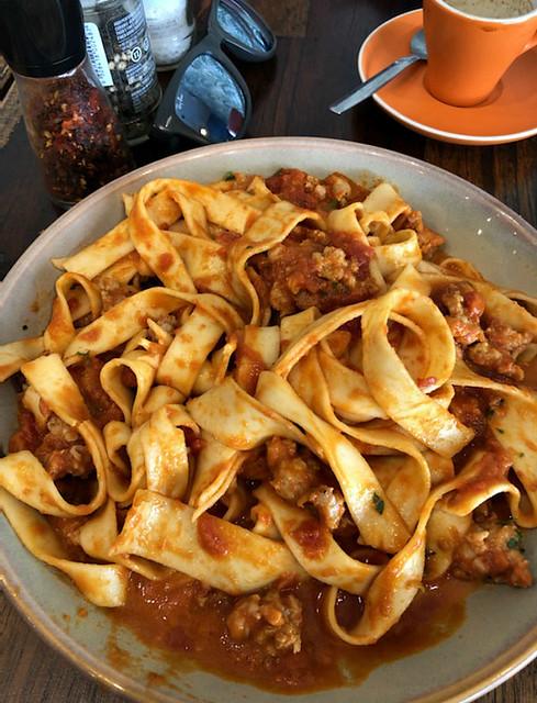 2020 Sydney: Fettuccine with Italian Sausage