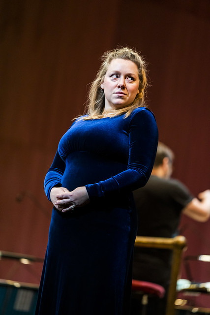 Sophie Bevan in Ariodante in Concert, The Royal Opera © 2020 ROH. Photograph by Tristram Kenton