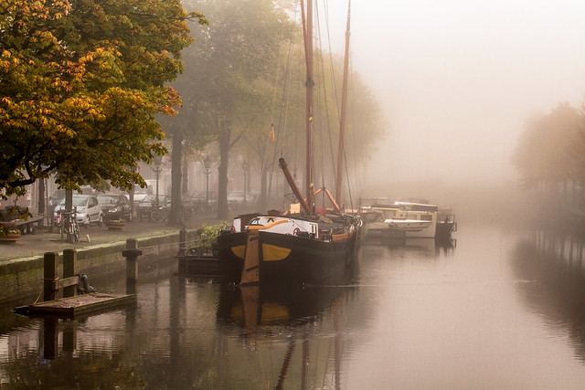Bierkade / The Hague in autumn