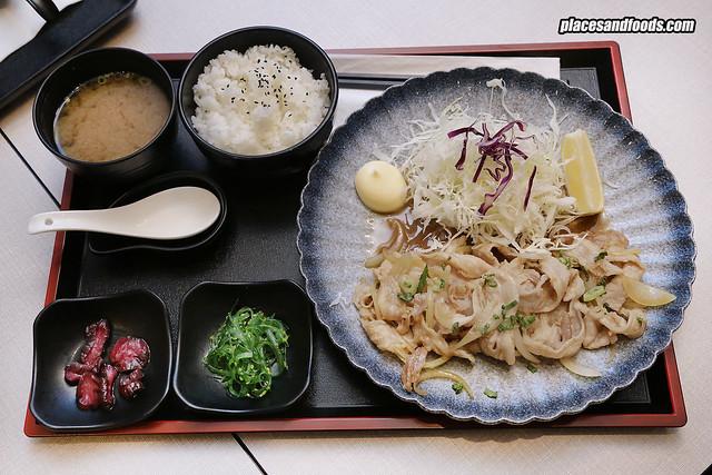 tonkatsu by wa kitchen pavilion Buta Shogayaki