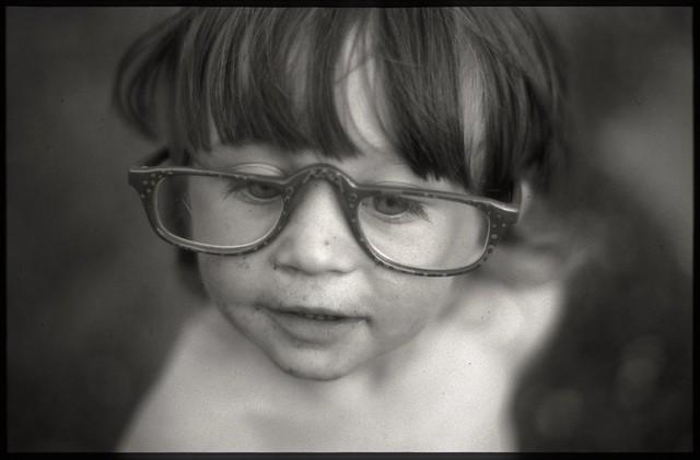 Ilforddelta100dr5 - Grandpa Jack's glasses