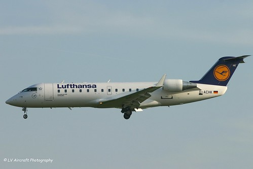 D-ACHK_CRJ2_Lufthansa CityLine_old titles | by LV Aircraft Photography