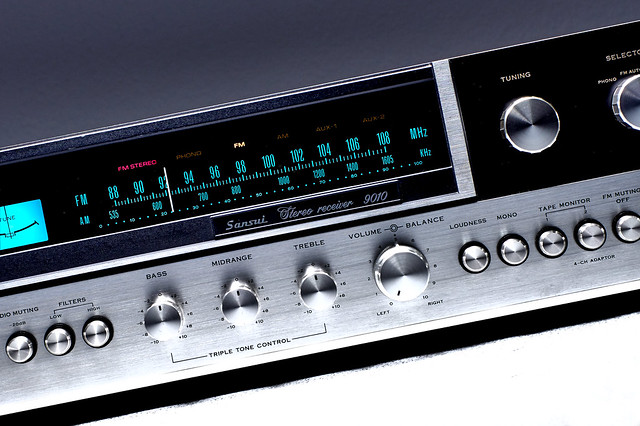 Sansui 9010 Stereo Receiver