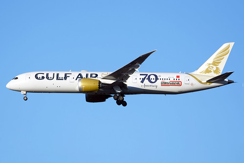 A9C-FD Gulf Air Boeing 787-9 Dreamliner (Heathrow EGLL) 19/11/2020 | by Mepos World Aircraft