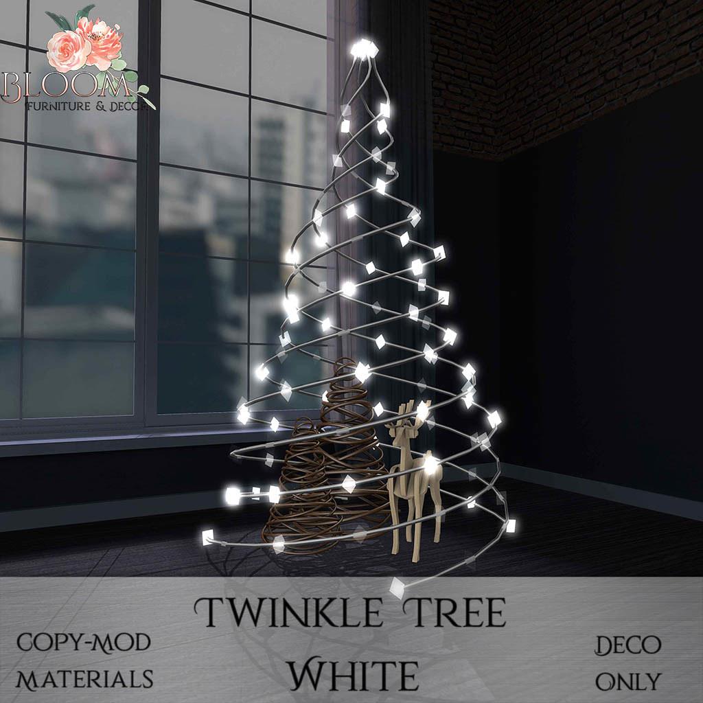 Bloom! – Twinkle Tree WhiteAD