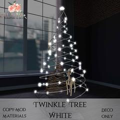 Bloom! - Twinkle Tree WhiteAD