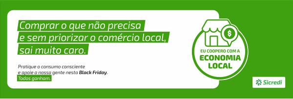 Apoie a economia local - Sicredi Pampa Gaúcho