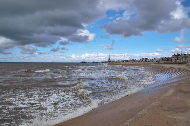 Clouds over Blackpool