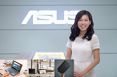 Emma Ou, ASUS Singapore Country Manager, at Built for Brilliance online launch event.