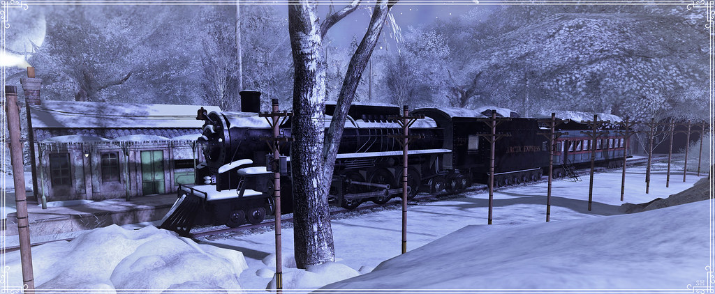 The Polar Express at Snowdrops