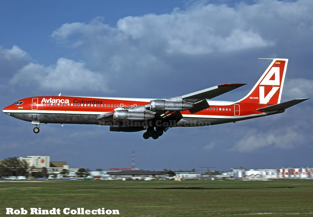 Avianca Colombia B707-359B HK-1410