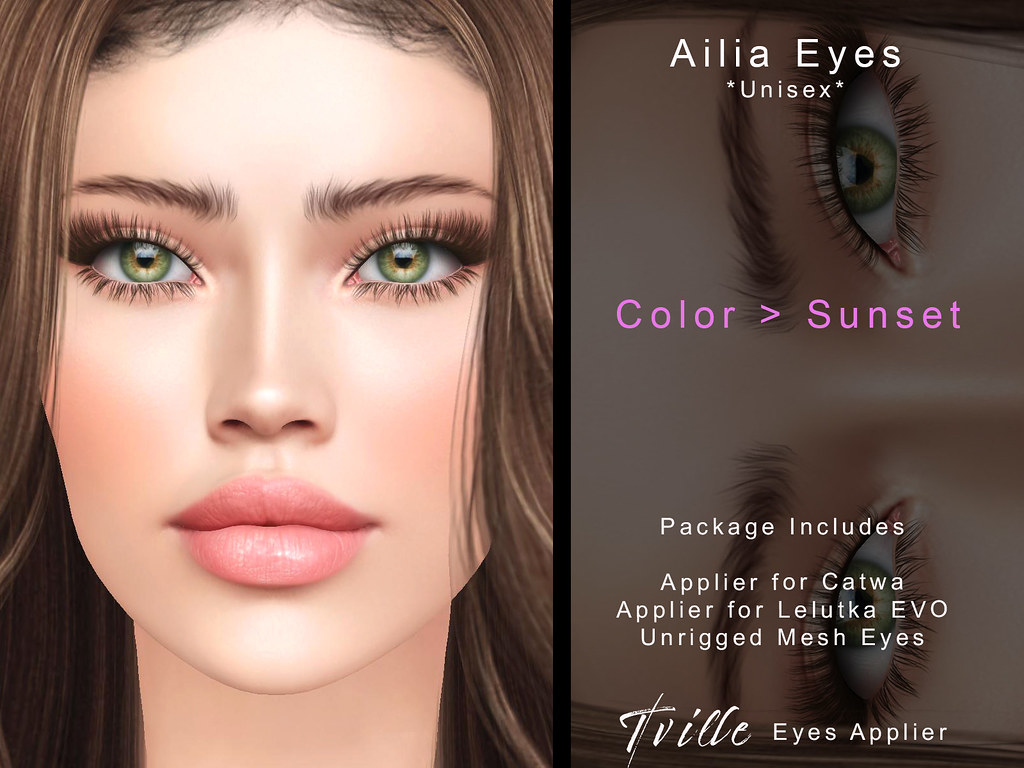 Tville – Ailia Eyes  –  sunset
