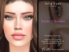 Tville - Ailia Eyes  -  sunset