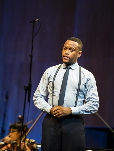 Thando Mjandana in Ariodante in Concert, The Royal Opera © 2020 ROH. Photograph by Tristram Kenton