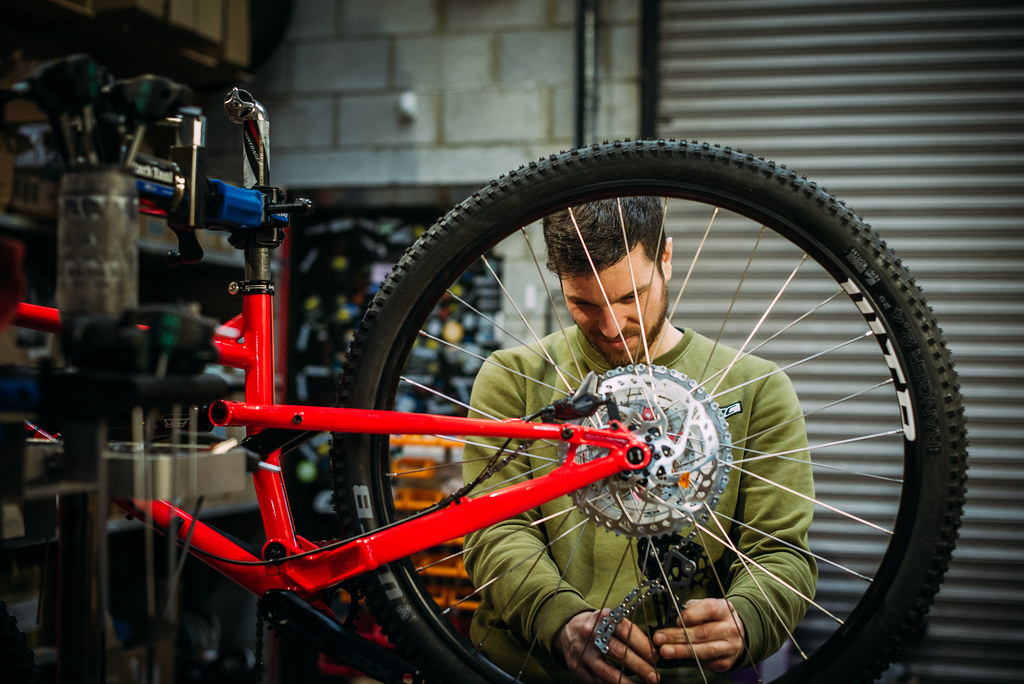 bike mechanic, cotic, work for cotic, uk made