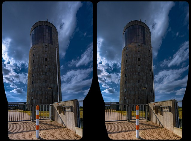 Inselsberg tower 3-D / CrossView / Stereoscopy