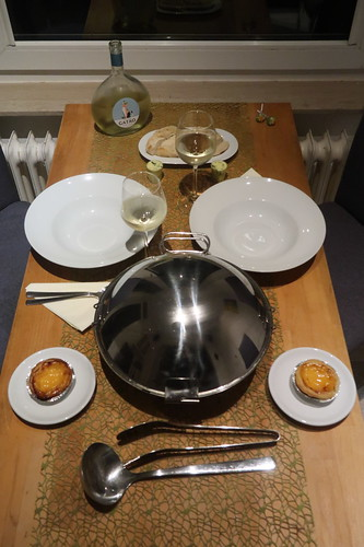 Portugiesisch Essengehen daheim (Tischbild 1)