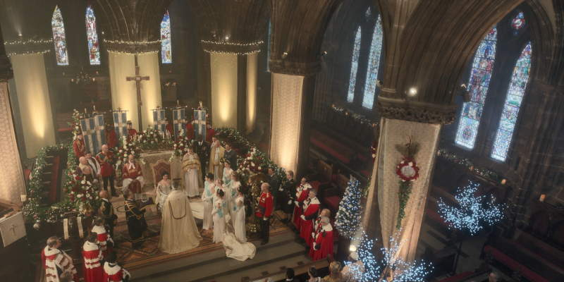 Coronation at the Glasgow Cathedral