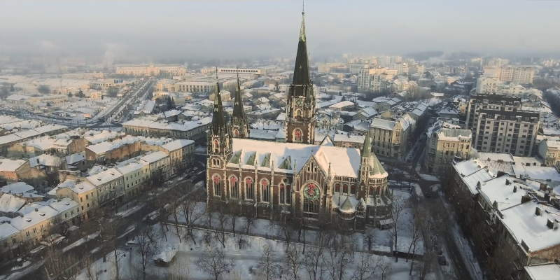 National Cathedral in Lviv