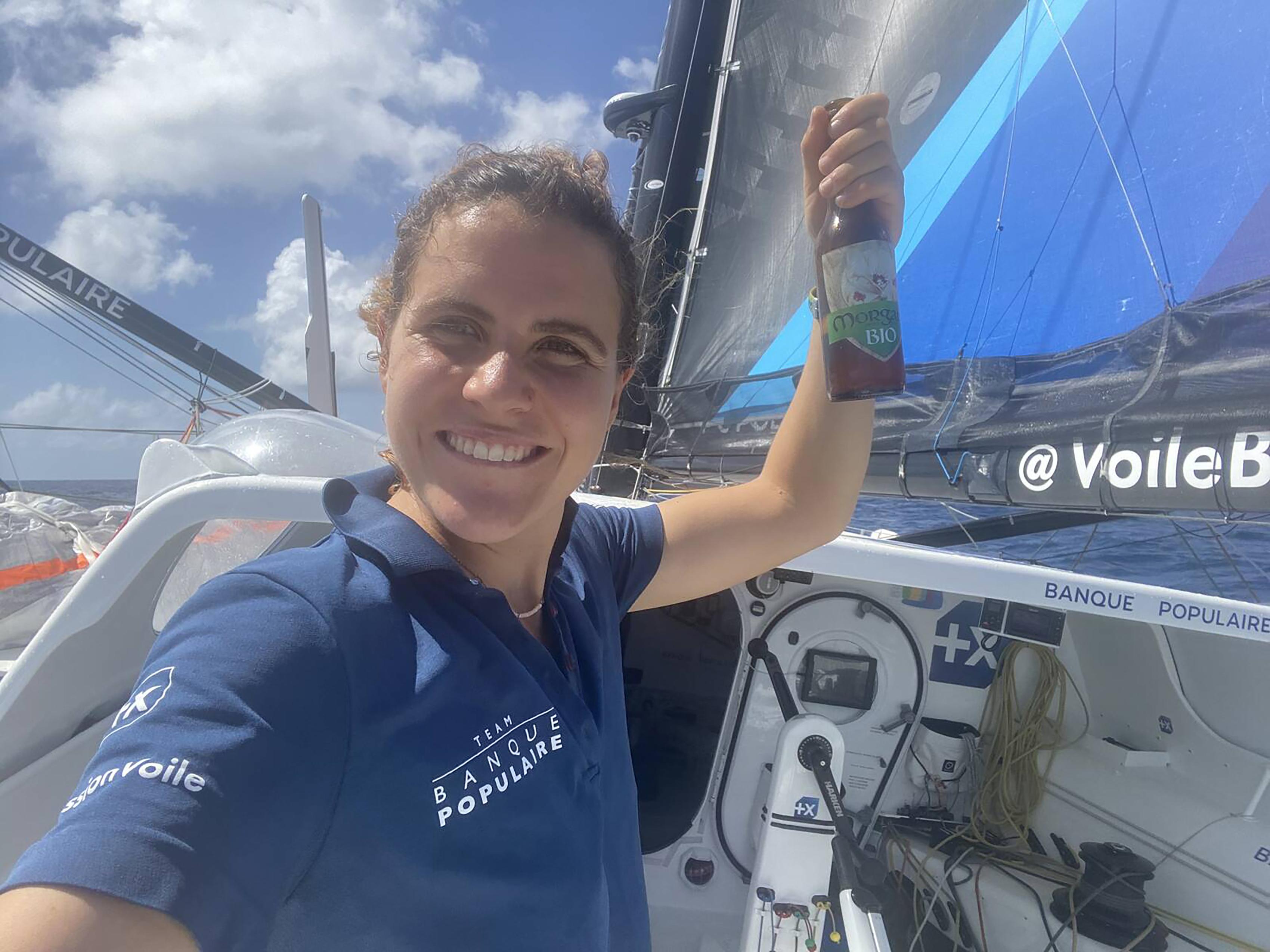 Clarisse Crémer - Vendée Globe - 20/11/2020
