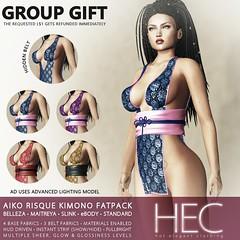 HEC (Teleporthub GROUP GIFT) • AIKO Risque Kimono