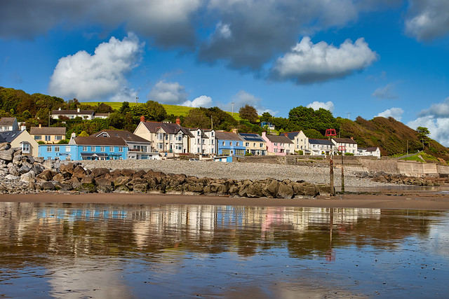Amroth Sea Front Reflections (Explored 22-11-2020 )