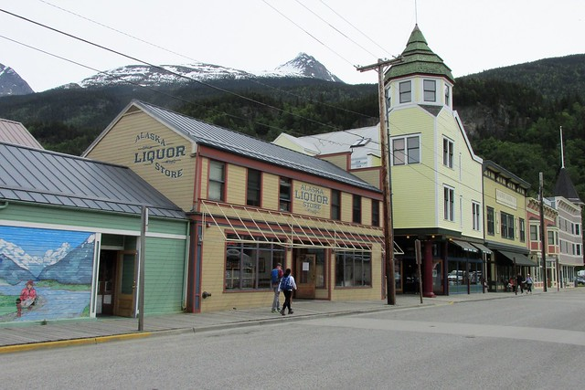 Skagway, Alaska - Historic Downtown