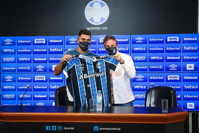 Apresentação Cesar Pinares no Grêmio - 20/11/2020