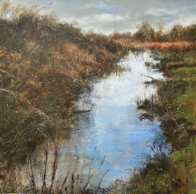 Wilden Marsh - Oil on Canvas - 60 x 60 cm - available