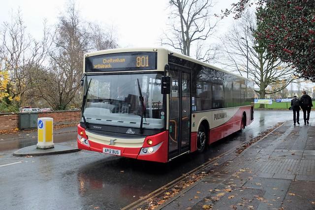 Pulham's AP12 BUS, Cheltenham