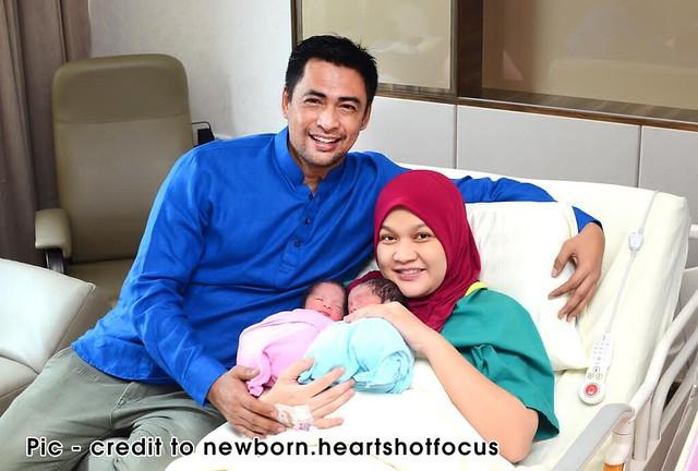 Dr Halina, Isteri Dr Sheikh Muszaphar Selamat Bersalin Anak Kembar Lelaki & Perempuan