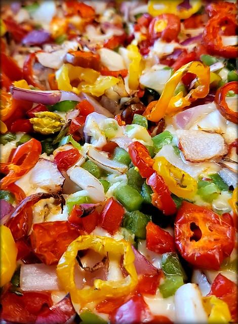 Spicy Veggie 🍕 🔥 👍