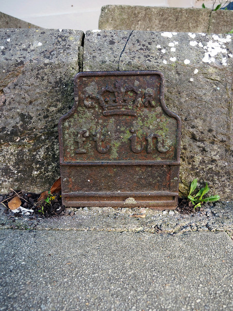 Old GPO cable marker