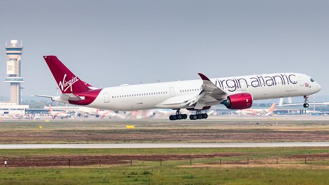 Virgin Atlantic Airbus A350-1000 G-VPRD | Milano - Malpensa (MXP-LIMC) | 20th September 2020