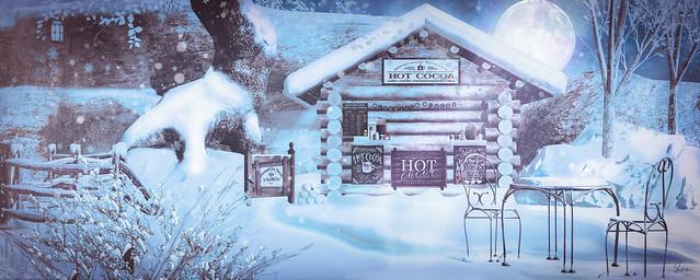 The Winter Cabin - Hot Cocoa Stand