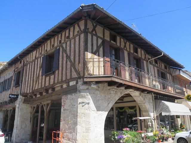 Maison à colombages, Villaréal (Lot-et-Garonne)