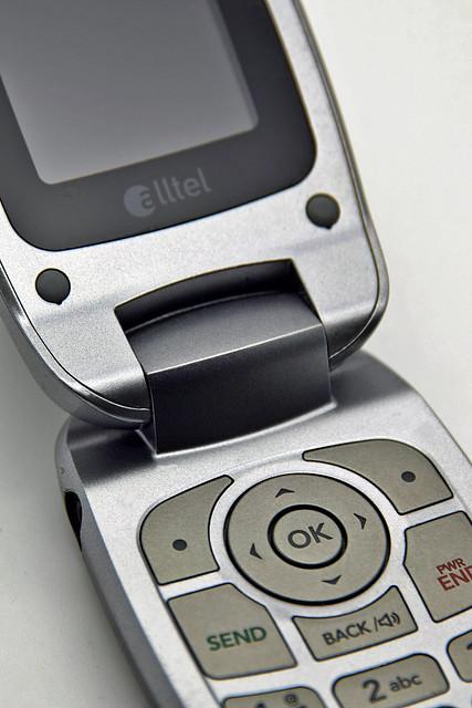 Old Gusto Flip Phone