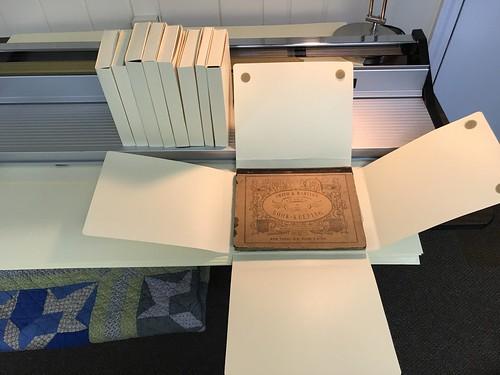 Scoring machine arch boxes