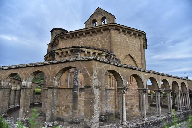 España. Navarra. Muruzábal. Santa María de Eunate