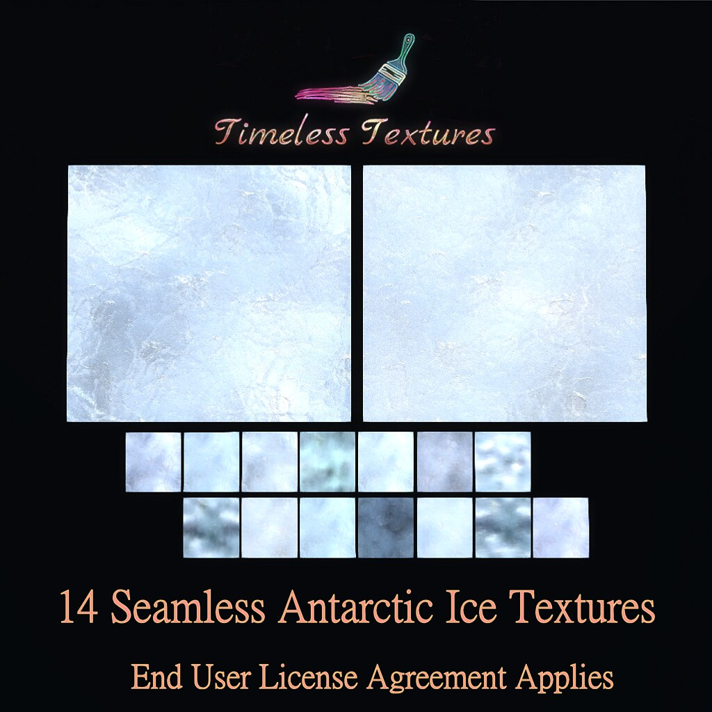 TT 14 Seamless Antarctic Ice Timeless Textures