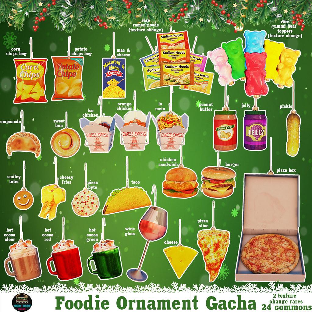 Junk Food – Foodie Ornament Gacha